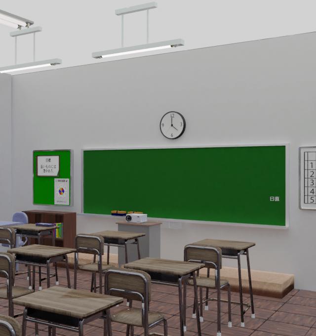 「ミニ脱出ゲーム 思い出の教室」をリリースしました